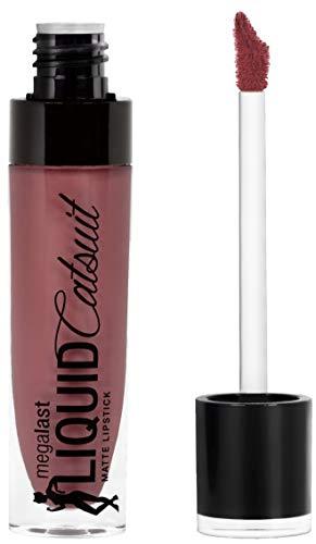 Wet \'n Wild Megalast Liquid Catsuit Matte Lipstick, Rebel Rose, 6g