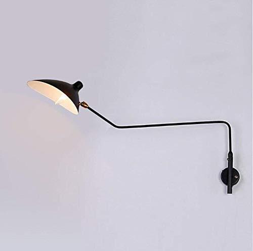 Hai Ying ♪ * Moderne minimalistische Wandleuchte mit verstellbarem Schalter Duckbill Swing Arm Wandleuchte Europäische kreative Nachtwandleuchte für Schlafzimmer Küche Esszimmer Studio Lounge ♪