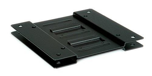 Rotronic ROLINE VESA Adapter | Monitor-Halterung zur Befestigung eines Mini-PC-Gehäuse | 75 x 75-100 x 100 | Metall in schwarz