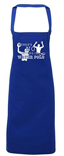 hippowarehouse There 's No Weinen in Wasser Polo Schürze Küche Kochen Malerei DIY Einheitsgröße Erwachsene, königsblau, (Kostüme Unter Diy Meer Dem)