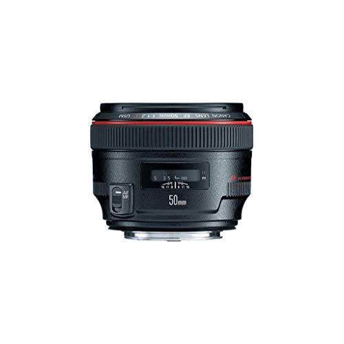 Canon EF 50mm F1.2L USM Objektiv (72 mm Filtergewinde) schwarz