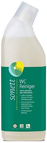 Sonnet WC-Reiniger Zeder-Citronella: 100% pflanzlich, ohne Petrochemie, entfernt gründlich Schmutz, Urinstein, Kalkablagerungen, 0,75 l