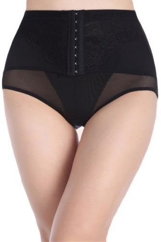 Modelant Slip Slip Culotte Femmes Ventre Plat Culotte 3 Styles - Noir, L taille basse