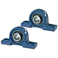 2 PCS - Rodamiento UCP204 /NP20 Soporte Autoalineante 20mm