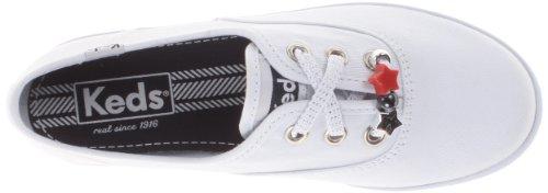 Keds kids CHAMPION K KY50368 Mädchen Sneaker Weiß (WHITE)