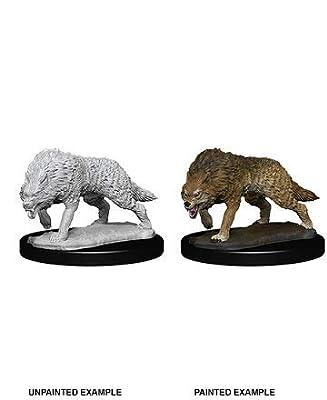 Dungeons & Dragons Wizkids: Deep Cuts Unpainted Miniatures: Timber Wolf