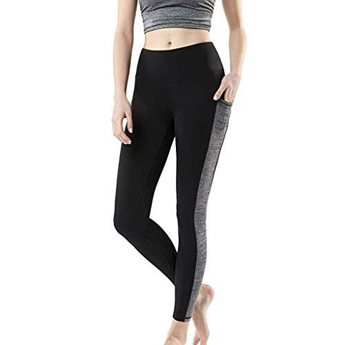 rauen Trainings Taschen nähende Gamaschen Sport, der Yoga athletische Hosen Laufen lässt Jogginghose mit Taschensteppung ()