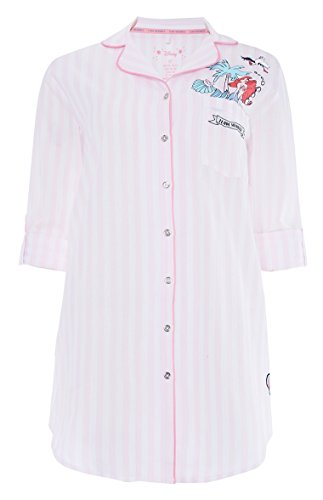 Primark Ladies Girls Womens Disney The Little Mermaid Ariel Pink Night Shirt Night Dress Nightie Pyjamas Pajamas UK S-XL Sold by PENTA06