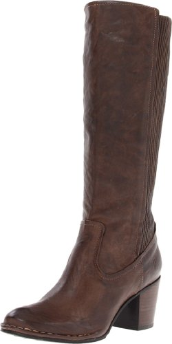 FRYE Women's Lucinda Scrunch Boot, Taupe Antique Soft, 9.5 M US (Top-scrunch)