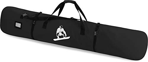 Snowboard Tasche Snow Boardbag mit Adressfeld 170 cm Farbe Black