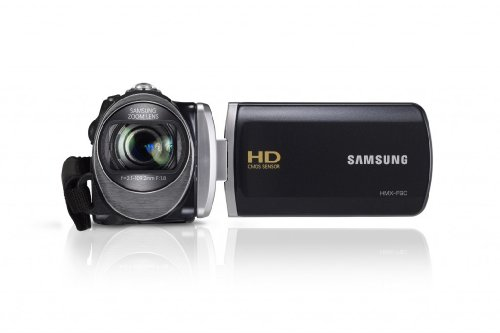 Samsung HMX-F90 HD-Camcorder (52-fach opt. Zoom, 6,9 cm (2,7 Zoll) LCD-Display, HD-Ready) schwarz Opt 2.7 In Lcd