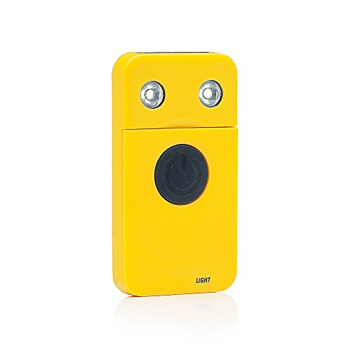 WakaWaka Light LED Solarleuchte (500 mAh), Gelb (Uni Solar-panels)