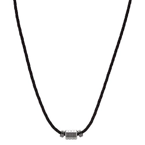 Fossil Collar con colgante Hombre acero inoxidable - JF02877998