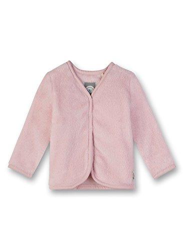 Sanetta Baby-Mädchen Sweatjacke Sweatjacket, Rosa (Vintage Rose 3897.0), 86