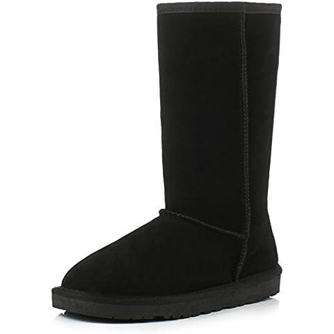 Ladies snow boots/Stivali di pelliccia isolato di pecora/ stivali (Classic Short Pelle Di Pecora)