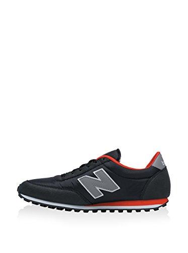 New Balance 487381 60, Baskets Basses Mixte Adulte Black