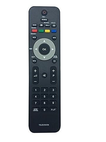 Viabty Nouveau Remplacé à distance Philips 242254901834 ajustement pour PHILIP TV 19PFL3403 19PFL3403 / 10 19PFL3403 / 78 19PFL3403D / 27 20PFL3403 22PFL3403 22PFL3403 / 10 22PFL3403 / 60