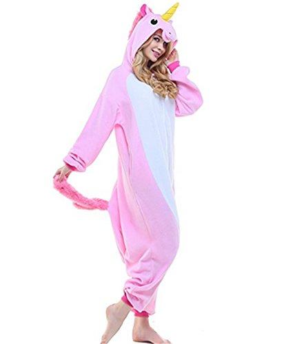 Kenmont-Unisex-Unicornio-Pijamas-para-Adultos-Disfraz-Cosplay-Animales-Ropa-de-dormir-Halloween-Navidad-Carnaval