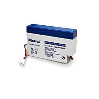 rechargeable battery 12V 0.8A , NB! with JST connector