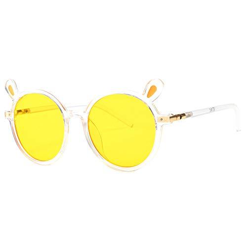 Cartoon Sonnenbrillen Mode Dekoration Kinder Sonnenbrillen gelb Einheitsgröße