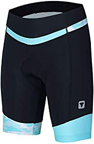 Women's Cycling Shorts with 3D Padded Bike Shorts with Reflective Elem