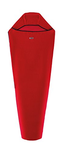 Ferrino Thermal Liner Mummy saccolenzuolo Thermo, Rot, 215x 80x 50cm -