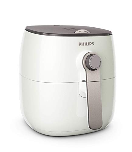 Philips Airfryer HD9621/2 Friggitrice Low-Oil e Multicooker con Tecnologia TurboStar, capacità 8 kg, Bianco
