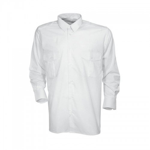 Camicia pilota bianca–Cityguard Bianco