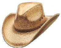 Western Express Pinch Front Palm Hat - Braun - SMALL (Western Hats Express)