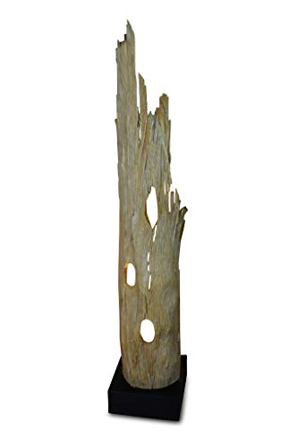 127cm Stehlampe aus Treibholz Holz RANONG von Kinaree -