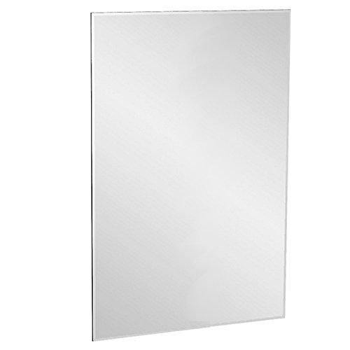 ENKI espejo rectangular para pared biselado sin marco 600 x 400 mm...