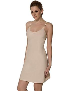 Bali Lingerie – Mujer bajo – Vestido beige blanco y negro – S M L XL