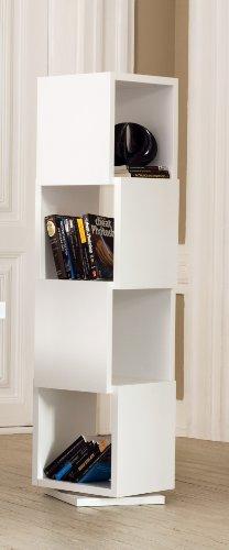 Scaffale SFK 123 x 64 x 38 cm MDF Bianco Weiss Steens Furniture 29014550