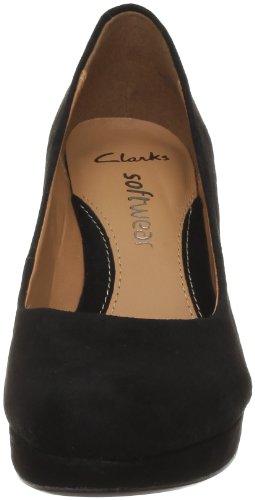 Clarks Anika Kendra 20354471 Damen Pumps Schwarz (Black Sde)
