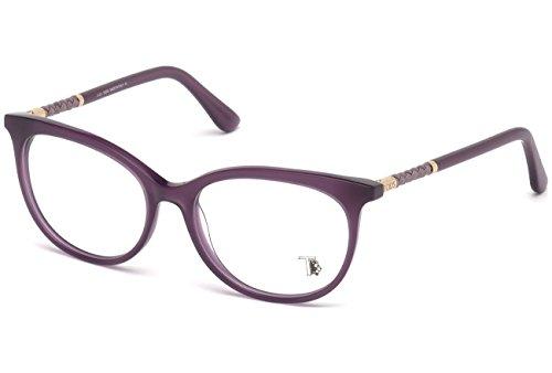 Tod's to5156, occhiali da sole unisex-adulto, viola (lilla), 54.0