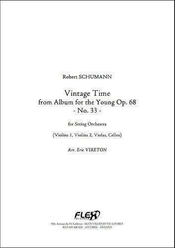 Descargar Libro PARTITURA CLASICA - Vintage Time - R. SCHUMANN - String Orchestra de SCHUMANN Robert