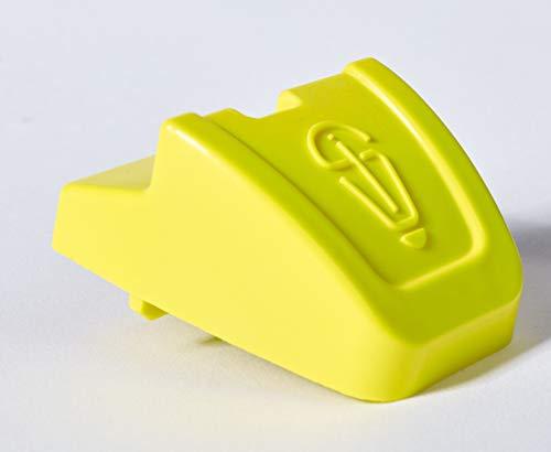RolloXSafe Rolladensicherung Einbruchsicherung Hochschiebeschutz Rolladenklemme Rolladenschutz Fenstersicherung (gelb)