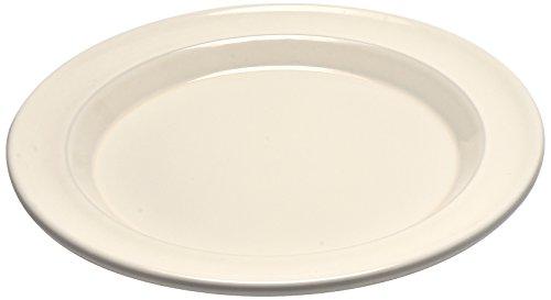 Emile Henry Eh028878 Assiette Plate Céramique Beige Argile 28 X 28 X 2,5 cm