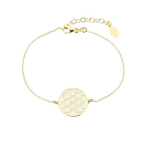 Brave Angel Armband Flower Of Life - Lebensblume Gold (gold) (Gold Charms Angel)