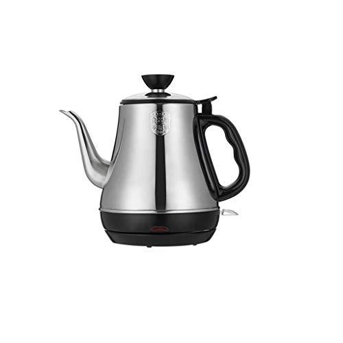 LYLLYL Kleiner Wasserkocher mit langem Mund Mini-Wasserkocher Kleine Kaffeekanne 0.8L Teekessel...