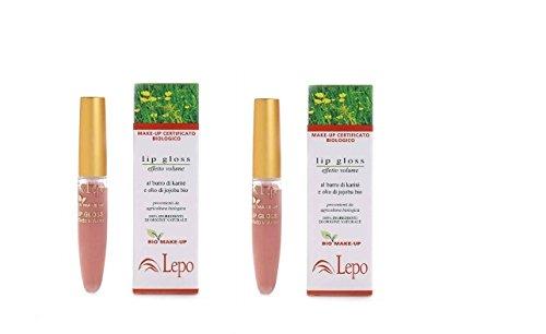 lepo-lipgloss-effet-volume-n11-2-boites-de-65-ml-volume-et-rimpolpante