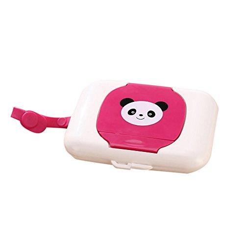 fanxing Papier Paket Kind Baby Travel Feuchttücherbox Feuchttücher Box Wickeltasche Spender Aufbewahrung Halter rose