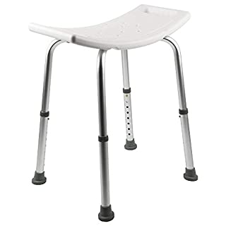 MultiWare Bath Stool Aluminium Shower Seat Chair Non-slip Height Adjustable Disability Aid