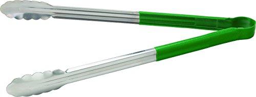 UTOPIA F60013Servierzange, Küche Zubehör, Edelstahl, 40,6cm 40cm, grün (12Stück)