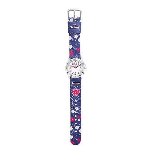 Scout Mädchen-Armbanduhr Analog Quarz Textil 280378070