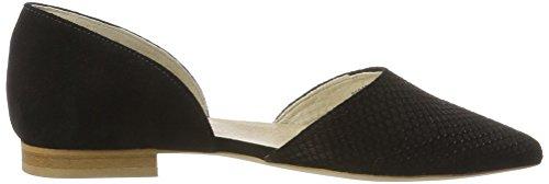 Marc Shoes Pisa, Ballerines femme Schwarz (Schwarz)