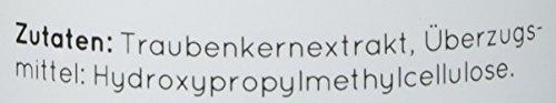 NATURE LOVE® OPC Traubenkernextrakt - Premium: aus Original französischen Trauben UND Extraktion in Frankreich - 800mg Extrakt je Tagesdosis - Laborgeprüft, hochdosiert, vegan, hergest. in Deutschland