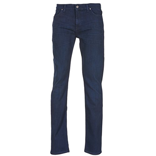 7 for all Mankind Ronnie Winter Intense Jeans Herren Blau - DE 38 (US 28) - Slim Fit Jeans