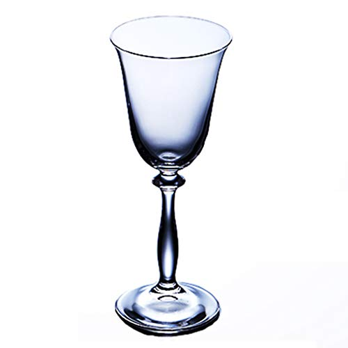 Verres à vin Verre À Cocktail Verre À Cocktail Rouge Verre À Champagne Cadeau (Color : Clear, Size : 8.6 * 7.2 * 21cm)