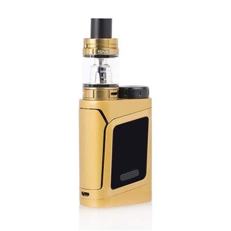SMOK AL85 TC Kit Iniziale di Sigarette Elettronica Alien Baby (Oro) SMOK RHA 85 Kit